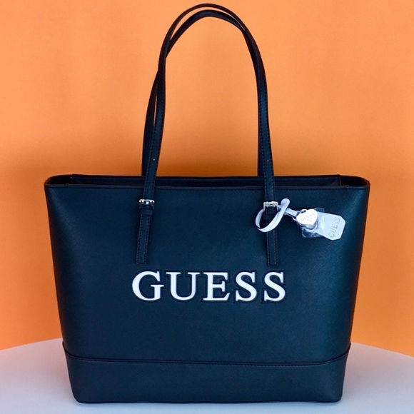 0a1cae94d3 Guess Authentic Tote Shoulder Bag Purse New